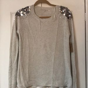 🔴 All Offers Accepted🔴 sequin shoulder sweater